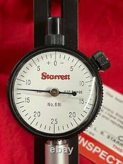 Starrett 681 Hors Rondeur Gage 1 1/4 5 Derniere En Stock