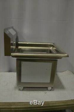 Steelton 20 1/2 18 Gauge Un Compartiment Évier En Acier Inoxydable Commercial