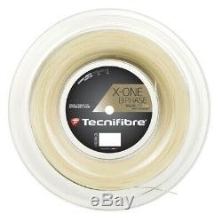 Tecnifibre X-one Biphase Tennis Cordage Gauge 17 / 1,24 (longueur 200m / 660ft)
