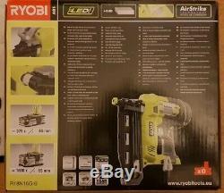 Tout Nouveau Ryobi R18n16g-0 Un Cloueur Sans Fil De Calibre 16 Vg