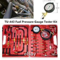 Tu-443 Car Truck Manométrique Jauge De Pression De Carburant Du Moteur Pompe D'injection Kit Testeur