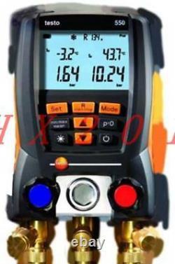 Un Nouveau Testo 550-2 Manifold Gauge Aide Le Service Frigorigène 0563 5506