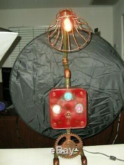 Un Thermomètre Lumière En Degrés Celsius / Huile / Km / H Gauge Vapeur Lampe De Tuyau (021)