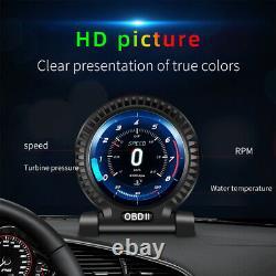 Universal Voiture Numérique Hud Obd Conduite De Code D'ordinateur Moniteur De Tête LCD