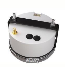 Voltmètre Voiture Marine Led Backlamp 85mm Jauge De Vitesse Gps Étanche 6 En 1