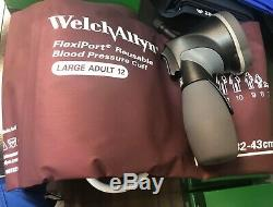 Welch Allyn Kit 5098-30 De Jauge Et Multi-manchette Avec Flexiport One Piece Small